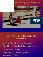 UL 2248 bulletin for Marina Fueling system