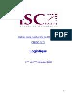 CRISC 21 Logistique