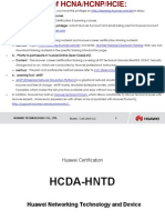 HCNA(HCDA) Huawei Certified Network Associate Training.pdf