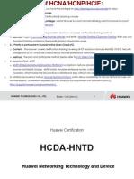 HCNA(HCDA) Huawei Certified Network Associate Training.pdf