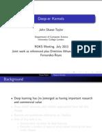 Deeper Kernels_Taylor_2013_Slides.pdf