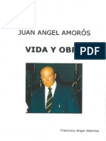 JUAN ÁNGEL AMORÓS. Vida y obra