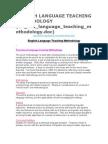 english language teaching methodology.doc