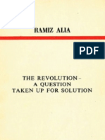 The Revolution - A Question Taken Up for Solution