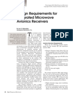 Design Requirements for Integrated Mw Avionics Receivers - Maloratsky