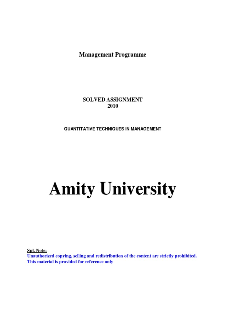 adl 07 quantitative techniques in management v3 1 pdf adl 07 quantitative techniques in management v3 1 pdf arithmetic mean