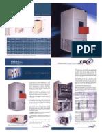 CC intercambiador de calor Catálogo