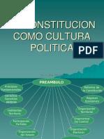 La Constitucion Como Cultura Politica