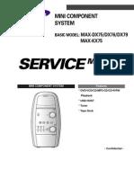 Samsung Max-dx75!76!79 Kx75 Sm