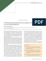 Conciliacion del tratamiento farmacológico al ingreso y alta