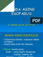 Benda asing esofagus.ppt