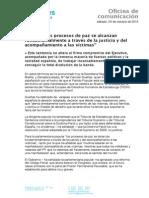 Nota de Prensa de Carmen Dueñas.