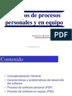 PRESENTACIÓN Modelos de procesos personales y en equipo