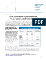 Social Security Keeps 22 Million Americans Out Of Poverty