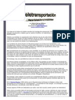 Teletransportacion Materializacion e Invisibilidad