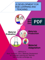 MATERIALS DEVELOPMENT FOR LANGUAGE LEARNING AND TEACHING-mind map.pptx