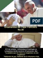 Enseñanzas del Papa Francisco - Nº 30