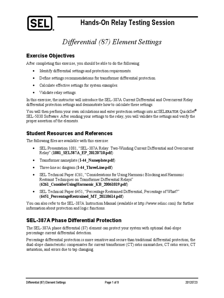 Sel transformer differential elementep20120723pdf transformer sel transformer differential elementep20120723pdf transformer user interface ccuart Gallery