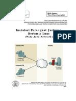 15. Menginstalasi Perangkat Jaringan Berbasis Luas (WAN)