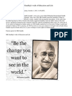 Mohandas Karamchand Gandhiji's walk of Education and Life.docx