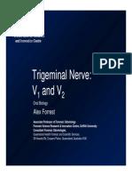 Trigeminal Nerve V1 & V2 Slides