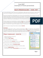 Macros Excel Format Personnalise