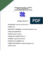 SISTEMAS DE INFORMACIÓN I 2010