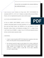 Ação locuplemento Ilícito - CHEQUES SIDNEI JOSE PEREIRA