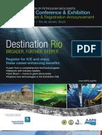 AAPG International Conference & Exhibition -- Rio de Janeiro