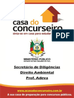 Apostila MPE Sec Diligencias Direito Ambiental Francisco