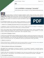 8 Formas de Identificar Um Candidato a Emprego Picareta