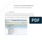 SAP HCM - Enterprise Structure for Personnel Administration.doc