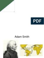 Adam Smith y Mercantilismo