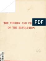 The Theory and Practice of the Revolution
