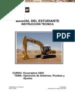 Manual Estudiante Operacion Sistemas Excavadora 320c Caterpillar