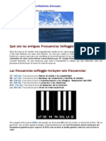 Frecuencias Solfeggio y Sus Beneficios