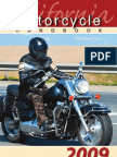CA DMV Motorcycle Manual 2009