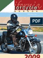 CA DMV Motorcycle Manual 2009
