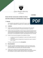 Conditionssummary report Mass Communication.doc