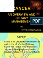 Cancer Overview and Dietary Management