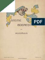 Steme boierești din România