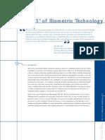 123 of biometrics technology