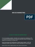 Mix de Marketing 1