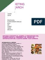 Diapositivas de Marketing Research