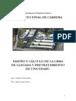 DISEÑO Y CÁLCULO DE LA OBRA PTAR-U