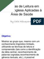 Técnicas de leitura em língua inglesa_Saúde