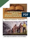 Repaso de la Escuela del Ministerio Teocrático para Septiembre Octubre 2013
