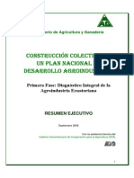 Diagnostico Integral de La Agroindustria Ecuatoriana