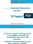 Rapport AprenderPNL RegaloExtra