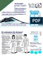 Flayer Kit Antiséptico Bio Botiquín Regenerador AyDoAgua.com